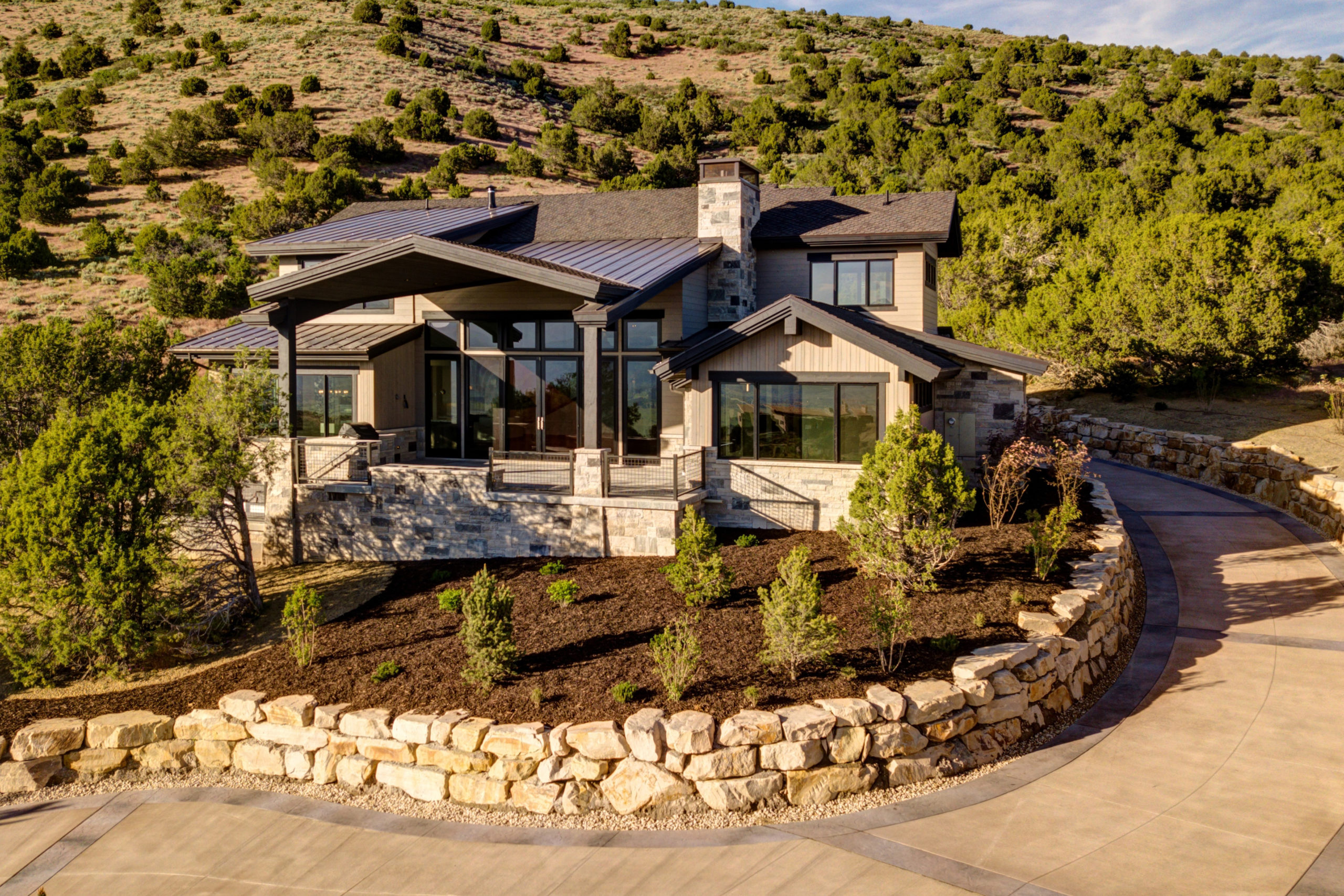 Home Building At Red Ledges Gated Community Utah