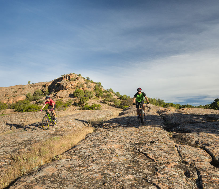 Mountain Bike Trails Near Red Ledges