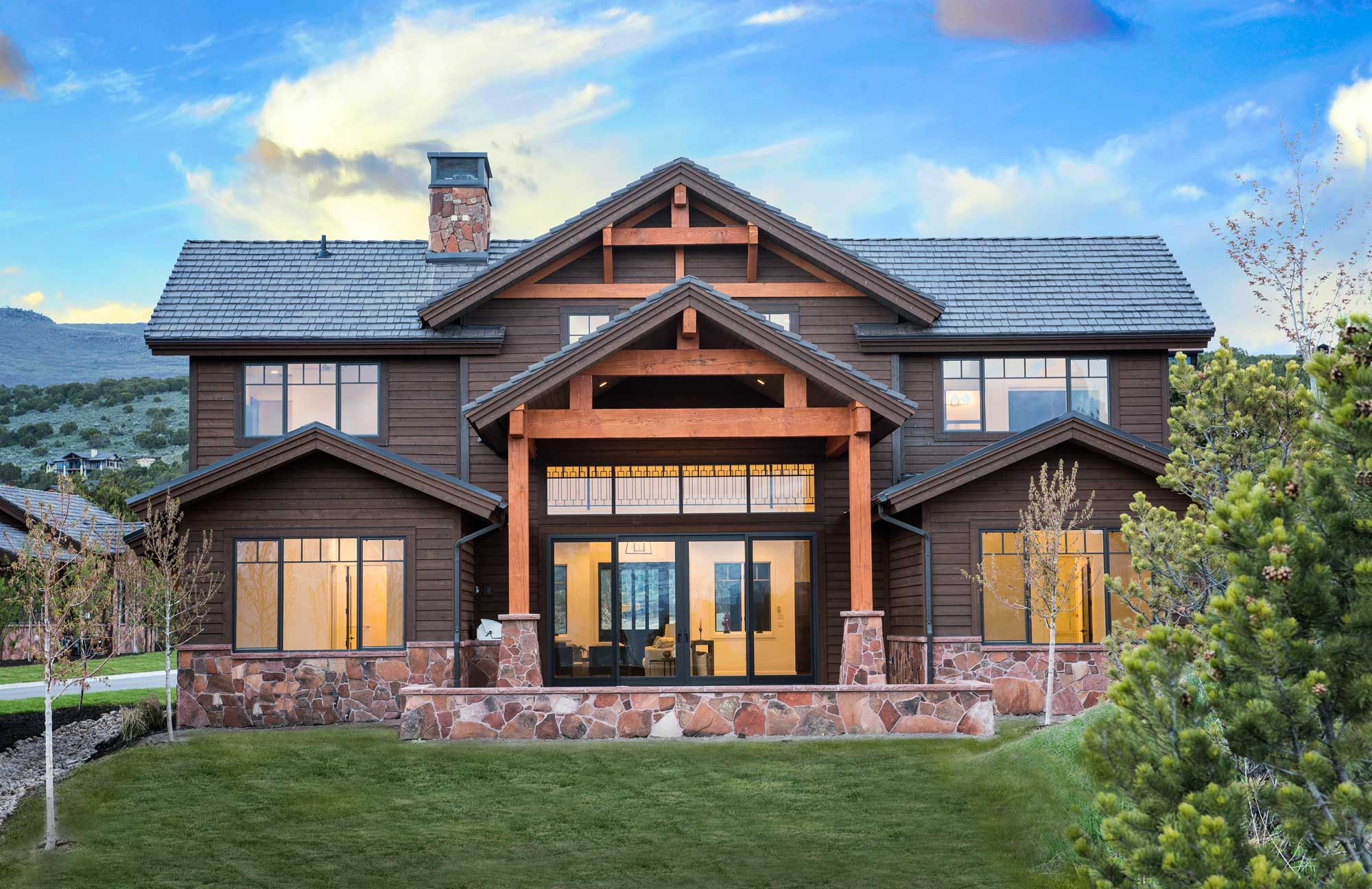 Park City Home Builders At Red Ledges