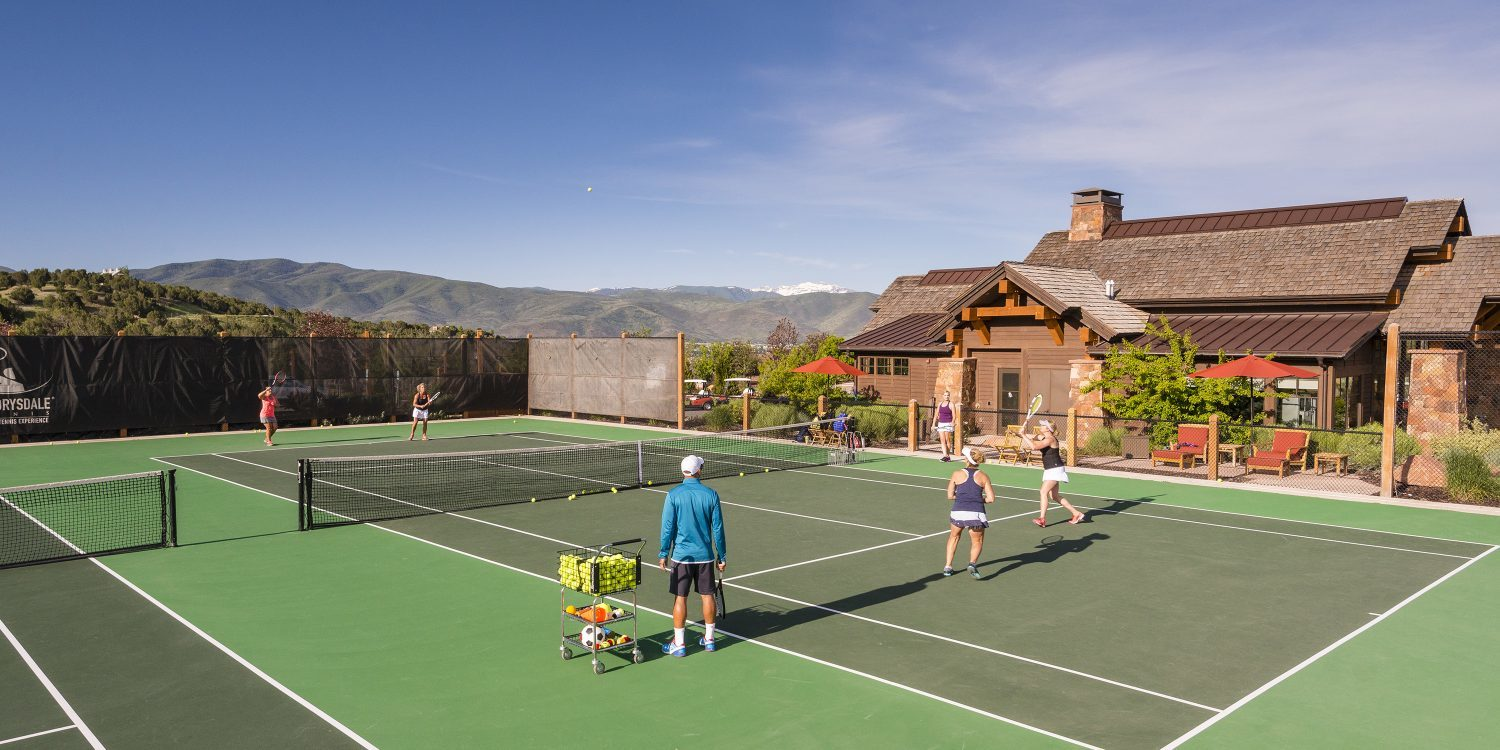 Private Tennis Club Near Park City