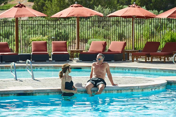 Luxury Community Pool at Red Ledges