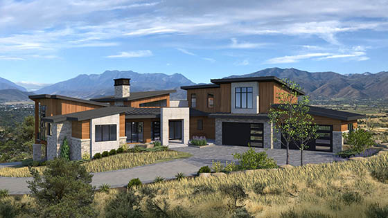 Luxury Home Construction at Red Ledges