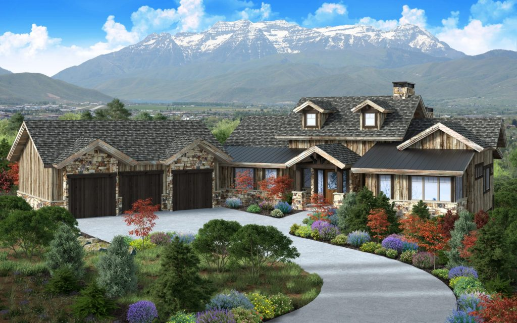 New Homes Under Construction in Red Ledges