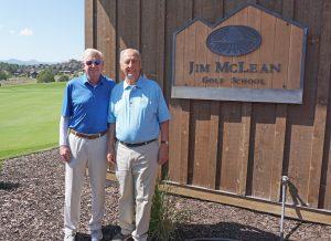 Jim McLean and Tony Burns